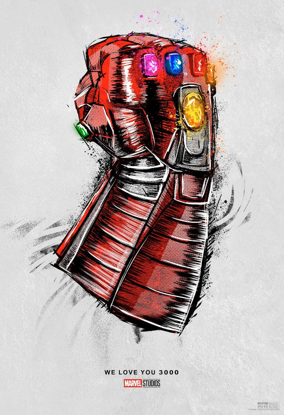 Avengers: Endgame re-release poster