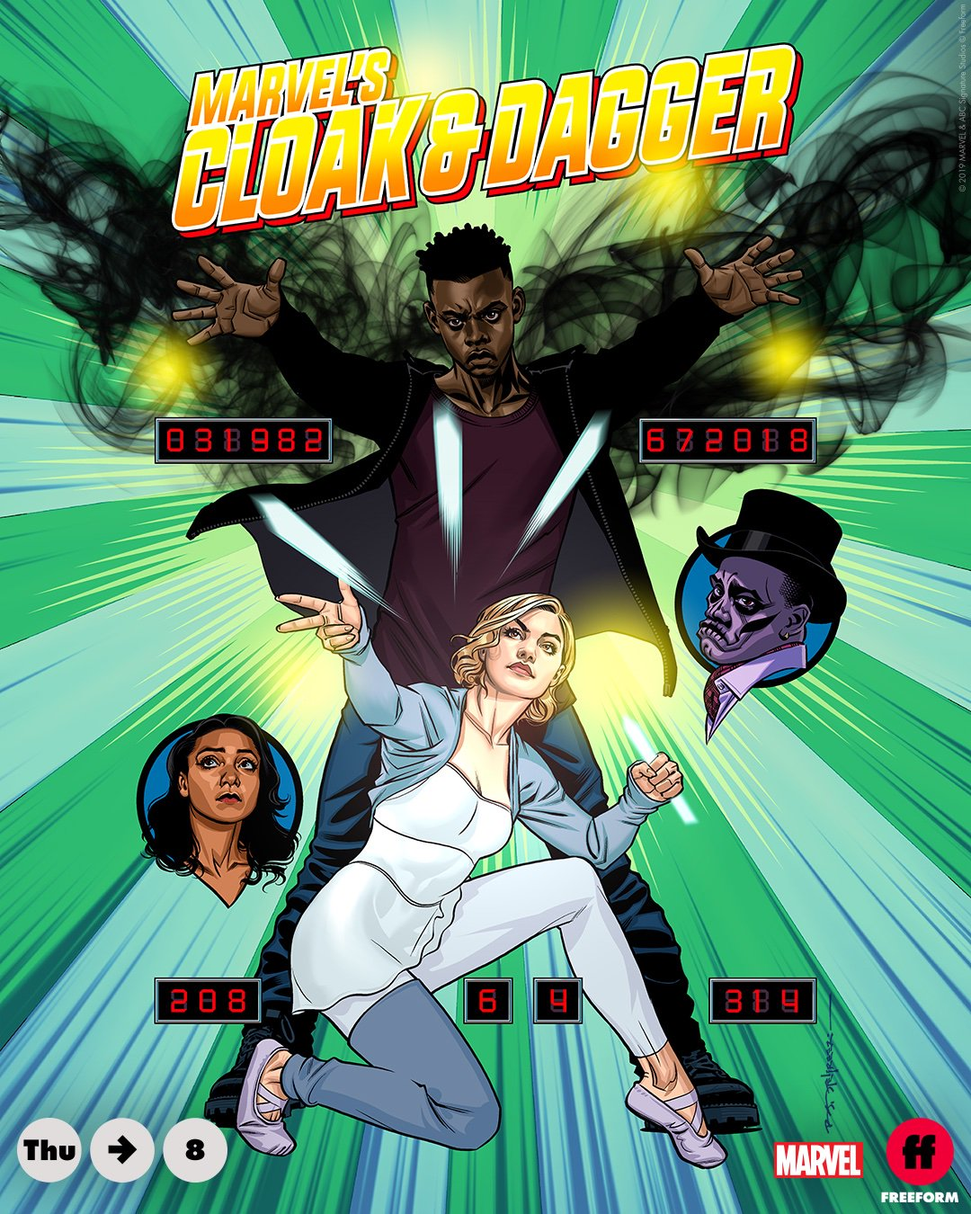 Cloak and Dagger Season 2 Episode 8 Poster